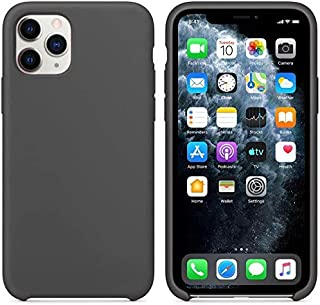Soft Flexible Silicone Cover, Soft Fur Lining (Microfiber) Matte Color for Apple For For iphone 11 pro