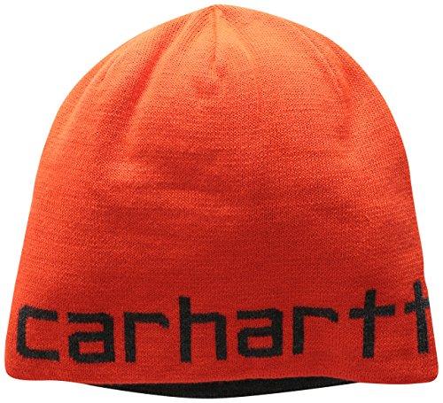 Carhartt Men's Greenfield Reversible Hat, Brite Orange, One Size
