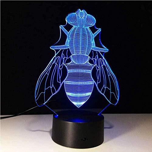 FUTYE Luz de noche 3D para niños Lámpara de ilusión de tren de vapor Lámpara de decoración de dormitorio con cambio de 7 colores con control remoto para niños Regalos de cumpleaños para niños niñas