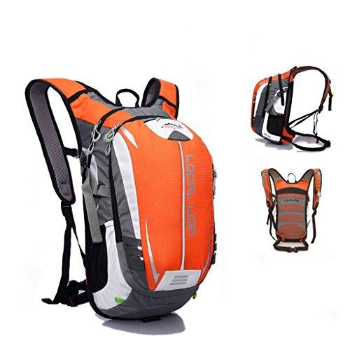 SINCERE@ Outdoor équitation sac à dos d'hydratation sac à dos petits respirants légers sacs sac de sport d'alpinisme (Orange)