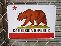 ★アメリカンサインボード★カリフォルニアリパブリック メッセージ看板★サインボード★プラスチック看板★案内看板★アメリカ看板