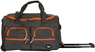 """Rockland 22"""" Rolling Duffle Bag, Charcoal (Gray) - PRD322"""
