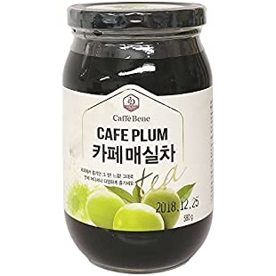 Customer reviews Caffe Bene Cafe Plum Tea 580g:Eventmanager
