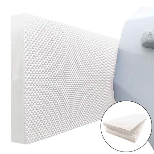 Ampulla Garage Smith GWP02S - Protector de pared para puerta de coche, diseñado en Alemania (2 unidades)
