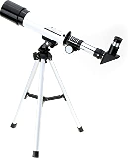 Visionking 360/50mm Monocular Space Astronomical Telescope Refractor Scope with Tripod