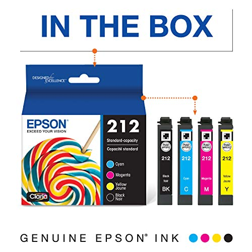 Epson T212 Claria Standard Capacity Cartridge Ink - Black and color Combo Pack Photo #7