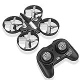 HobbyLane Mini Drone para Niños, Quadcopter UFO de Control Remoto de 2.4GHz, Quadcopter RC de Modo sin Cabeza de giroscopio de 6 Ejes con Luces LED (Negro)