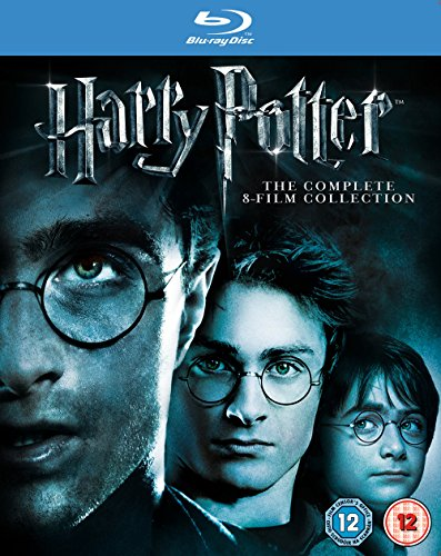 HARRY POTTER COMPLETE 8 FILM COLLECTION [Blu-ray] [UK Import]