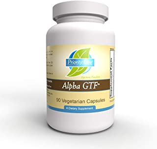 Priority One Vitamins Alpha GTF 90 Vegetarian Capsules -Blood Sugar Support - Support for Normal Blood Sugar Levels in Hea...