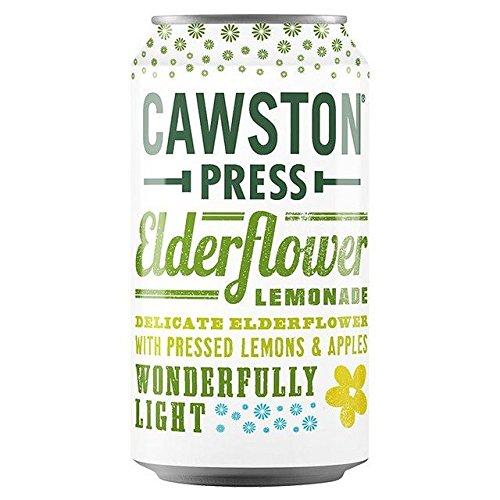 Cawston Press Sparkling Elderflower Lemonade - 330ml (11.16fl oz)