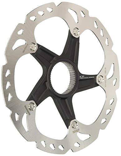 Shimano SM-RT81 Xt Center-Lock, Disco Freno, Argento, 180 mm