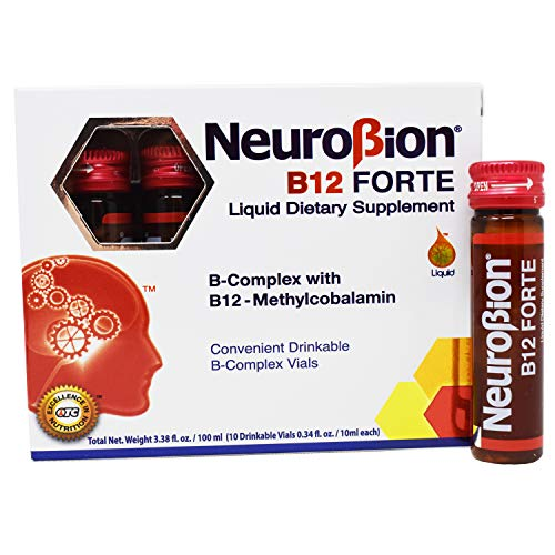 Neurobion B12 Forte 10 Vials x 10 ml (packaging may vary)