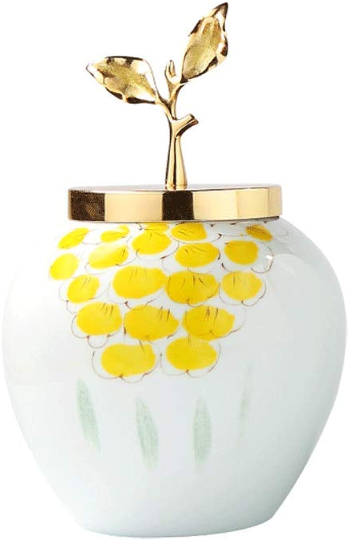 Vase LITING en céramique Simulation Composition Florale Décoration Maison Salon Doux Décoration AmeubleHommest (Couleur   Ceramic-blanc, Taille   34.5cm11.5cm)
