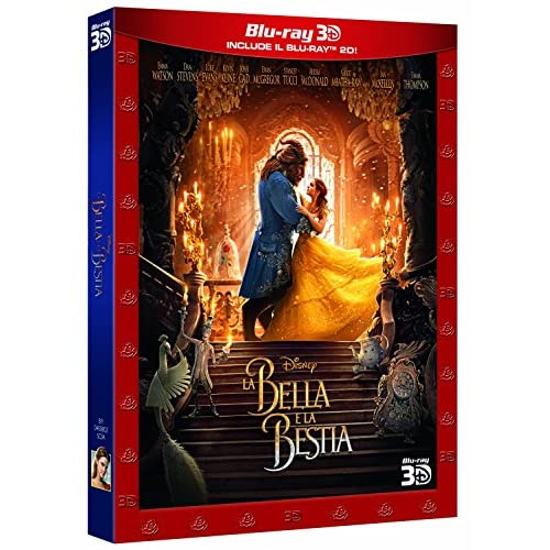 La Bella e La Bestia - Live Action 3D (2 Blu-Ray);Beauty And The Beast