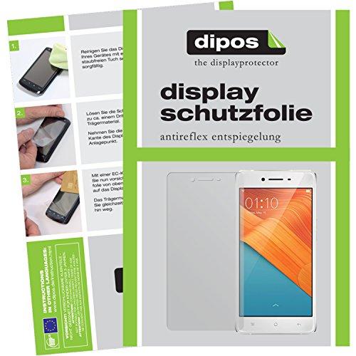 dipos I 6X Schutzfolie matt kompatibel mit Oppo R7 Lite Folie Bildschirmschutzfolie