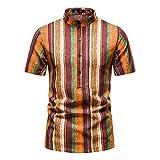 Camisa De Playa Hawaiana para Hombre, Camisas con Estampado De Frutas Florales, Camisetas Casuales De Manga Corta, Verano, Vacaciones, Moda, Camisa De Talla Grande