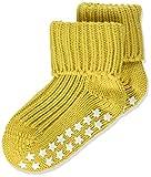 Falke Catspads Cotton Calcetines, Amarillo (Spicy Mustard 1473), 95 (Talla del fabricante: 80-92) para Bebés