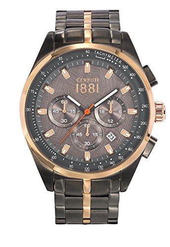 Armbanduhr CERRUTI 1881Stahl–Herren–44mm