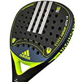 Adidas - racchetta Paddle Essex Carbon Attack 1.8 Lime ruvida