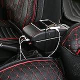 XLTWKK accoudoir de Voiture en Cuir boîte de Rangement Centre Console Centrale pièces intérieures Accessoires Automobiles, pour Skoda Octavia A5 2012
