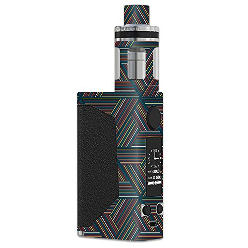 MightySkins Skin Compatible with JoyeTech eVic Primo – Triangle Stripes | Protective, Durable, and Unique Vinyl Decal wrap Cover | Easy to Apply, Remove, and Change Styles | Made in The USA