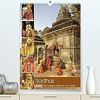 Sadhus - Die heiligen Maenner von Nepal (Premium, hochwertiger DIN A2 Wandkalender 2022, Kunstdruck in Hochglanz): Dieser Kalender zeigt Aufnahmen von Sadhus, den heiligen Maennern von Nepal. (Monatskalender, 14 Seiten )