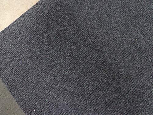 Nadelfilz (3€/m²) Bodenbelag Schwer Entflammbar, für Events und Messen Anthrazit 200 cm Breite (500 x 200 cm)