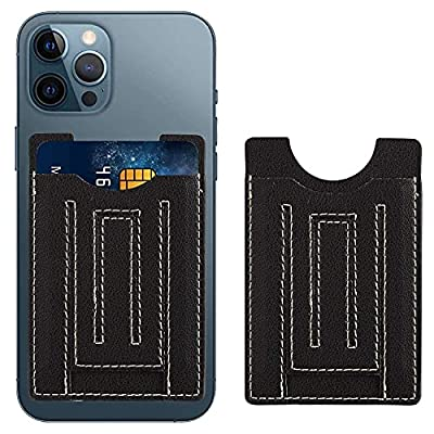 Amazon - 50% Off on U-echo Stick-on Credit Card Holder with Phone Stand for Back of Cell Phone