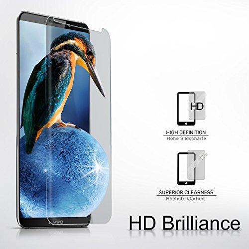 MoEx 9H Panzerfolie für Huawei Y550   Panzerglas Display Glasfolie [Tempered Glass] Screen Protector Glas Displayschutz-Folie für Huawei Ascend Y550 Schutzfolie - 2