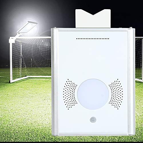 Qiter Luz de energía Solar, lámpara de Pared Blanca cálida, Resistente y Duradera para Patio Trasero, Cubierta, pérgola, Patio