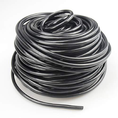 Balidao Tubi per irrigazione Tubo capillare, tubo flessibile per irrigazione a goccia in PVC 4/7mm Flessibile, Tubazione per irrigazione a goccia per Giardino Serra Impianto di Irrigazione (30m)