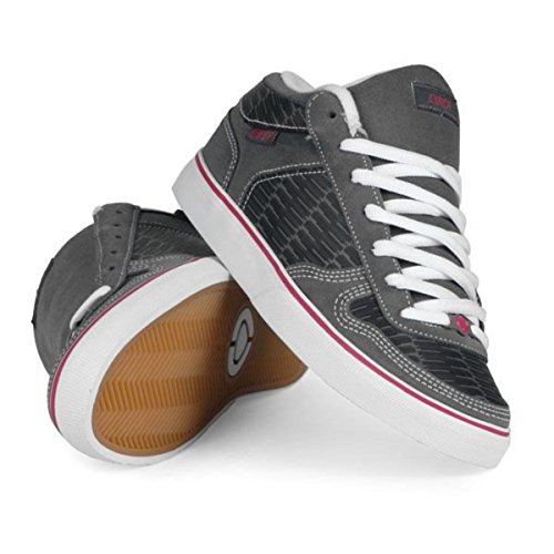 Circa Skateboard Schuhe 8 Track Black/Gray/Hot Pink - Circa Shoes, Schuhgrösse:35.5