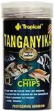 Tropical Tanganyika Chips – Fichas de alimentación Especiales para Grandes ciquias tanganyikasee-Cichliden, 1 Unidad (250 ml)