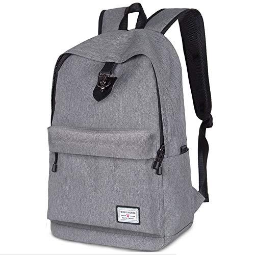 Backpack Rucksack Men'S Shoulder Bags Leisure Travel Large-Capacity Backpacks High School Students School Bags 33 X 14 X 45Cm