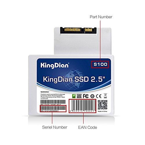 KingDian 2,5 Zoll SATA III SATA II interne SSD (S100 16GB)