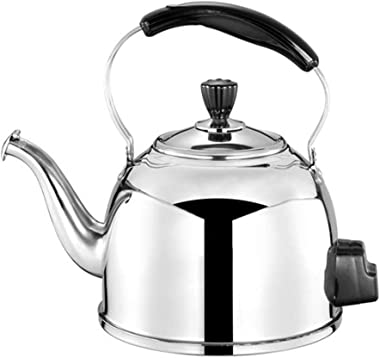 Stainless Steel Stove Top Kettle 304 4L Food Grade Kettle, Sound Electric Kettle, Convenient Electric Kettle for Adding Soup