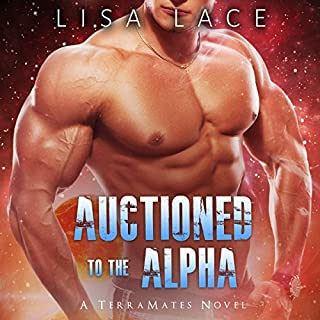 Auctioned to the Alpha audiobook cover art