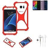 K-S-Trade® Mobile Phone Bumper + Earphones For LG