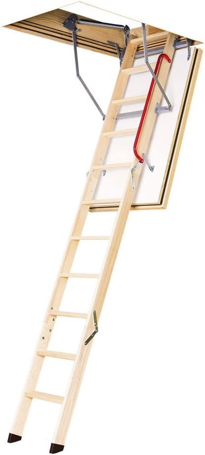 Fakro Lwf 869718 U S Certified Fire Resistant Attic Ladder For 22 1 2 X 54 Inch Rough Openings Amazon Com