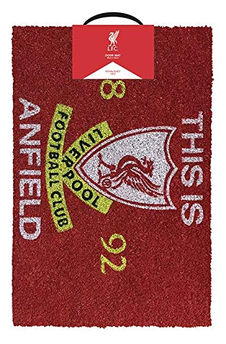 Cup of Tees Liverpool FC This is Anfield - Felpudo (40 x 60 cm)
