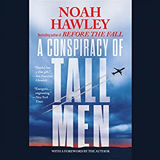 A Conspiracy of Tall Men audiobook cover art