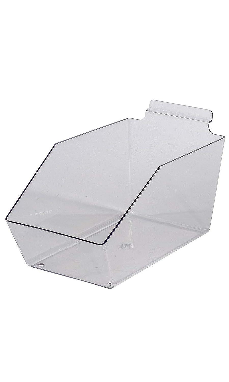 "Clear Fashion Plastic Dump Limited price sale Bin - 11 ½"" 5 X 6"""