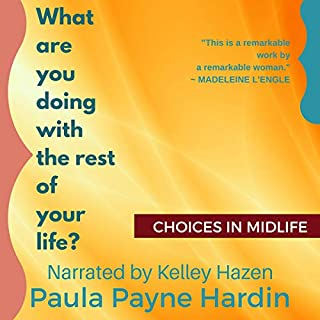 What Are You Doing with the Rest of Your Life? audiobook cover art