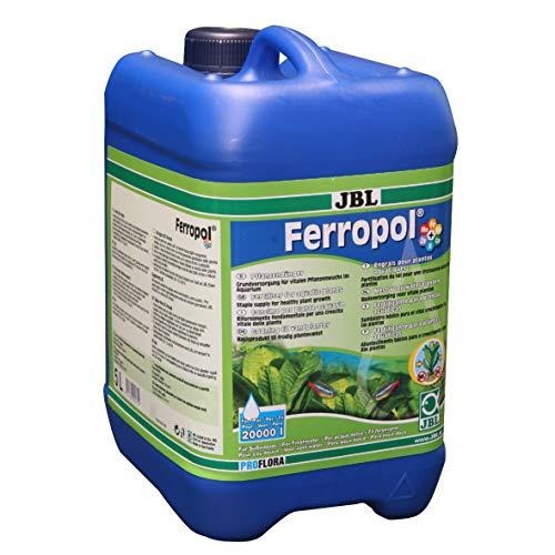 JBL Ferropol 20175, Pflanzendünger für Süßwasser-Aquarien, 5 l