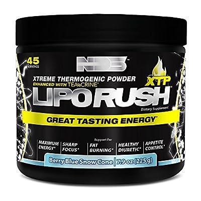 NDS Nutrition LipoRush XTP Extreme Thermogenic Fat-Burning Powder