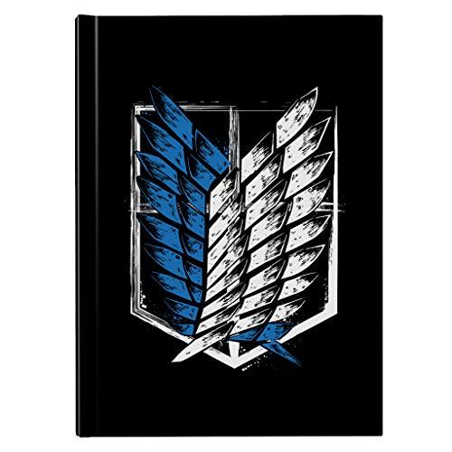Attack On Titan Wings Of Freedom Hardback Journal