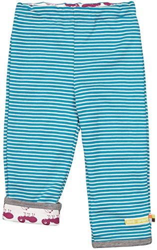 loud + proud dziecięce spodnie dwustronne z bawełny ekologicznej, spodnie z certyfikatem Gots