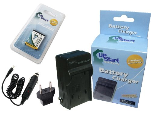 Replacement for Kodak PixPro FZ51 Battery and Charger with Car Plug and EU Adapter - Compatible with Kodak KLIC-7006 Digital Camera Batteries and Chargers (800mAh 3.7V Lithium-Ion)