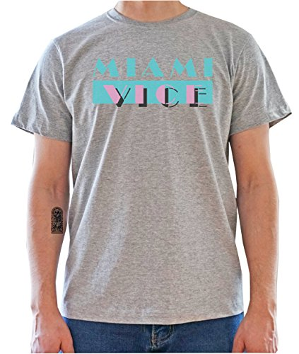 DreamGirl Miami Vice Logo Mens T-Shirt