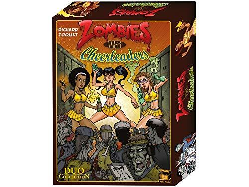 Matagot- Juego de Cartas Zombies vs. Cheerleaders, Color (Asmodee)